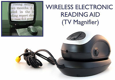 SASP Wireless Electronic Reading Aid (TV Magnifier) • 44.58£