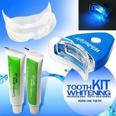 AU14.95 • Buy Professional Teeth Whitening Kit Uv Light Oral Bleaching Mouth Smile Tooth White