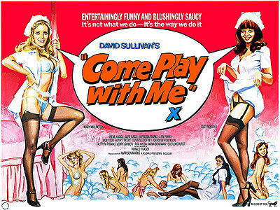 £15.99 • Buy Come Play With Me - 1977 - Movie Poster