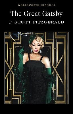 The Great Gatsby By F. Scott Fitzgerald Wordsworth Classics Paperback Book New • 3.29£