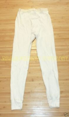 $12.90 • Buy Mens Military Long Johns Thermal Underwear Bottoms Pant Waffle Weave X-Small NEW