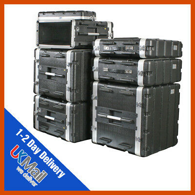 ABS Rack Case | 2-10u | Flight Case | Equipment Case | DJ Case | Amp Case | PA   • 90.99£