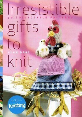 £22.99 • Buy Irresistible Gifts To Knit By Alan Dart Book The Cheap Fast Free Post