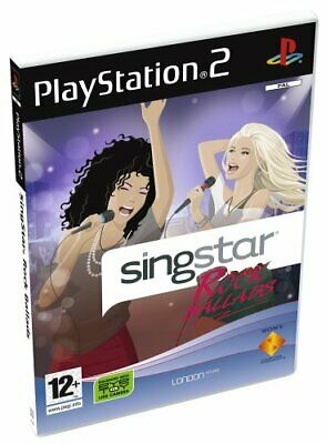 SingStar Rock Ballads - Solus (PS2) - Game  RIVG The Cheap Fast Free Post • 9.22£