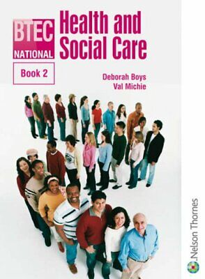 £3.59 • Buy BTEC National Health And Social Care Book 2: Bk. 2 By McAleavy, Janet Paperback
