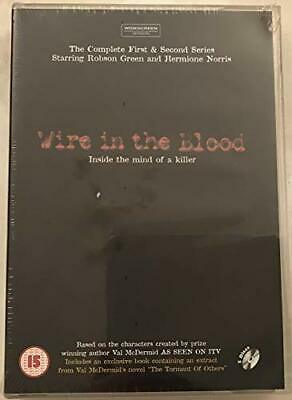 £3.49 • Buy Wire In The Blood: Series 1 And 2 (5 Disc Box Set) [DVD] - DVD  7QVG The Cheap