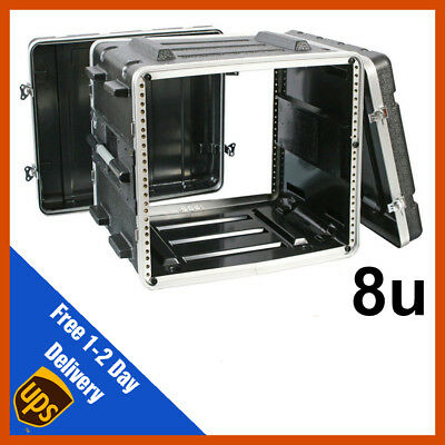 ABS Rack Case | 8u | Flight Case | Equipment Case | DJ Case | Amp Case | PA • 90.99£