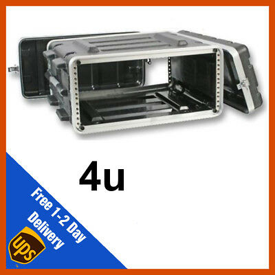 AU128.74 • Buy ABS Rack Case | 4u | Flight Case | Equipment Case | DJ Case | Amp Case | PA