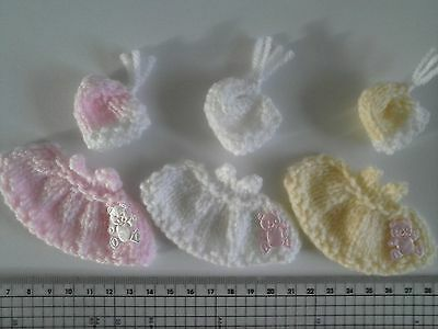 New Baby Card Making Toppers / Embellishments Cute & Unique Hand Made • 3.25£