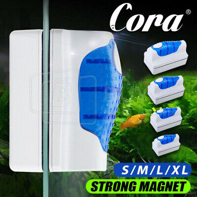 AU15.31 • Buy Magnetic Aquarium Fish Tank Glass Algae Glass Cleaner Scrubber Floating Brush