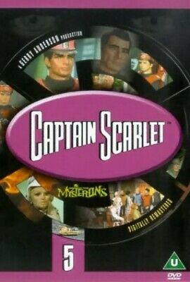£3.49 • Buy Captain Scarlet And The Mysterons: 5 [DVD] [1967] - DVD  BZVG The Cheap Fast