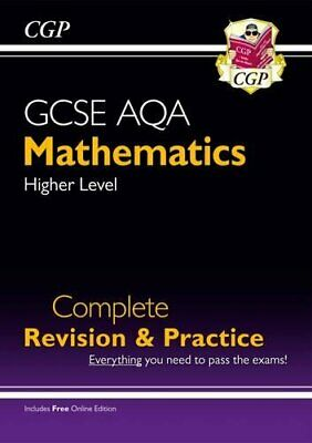 £8.49 • Buy New 2021 GCSE Maths AQA Complete Revision & Practice: Higher Inc... By CGP Books