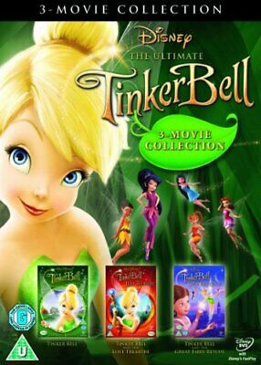 £4.20 • Buy Tinker Bell Triple Pack (Tink, Lost Treasure And Fairy Rescue) [DVD] - DVD  50VG