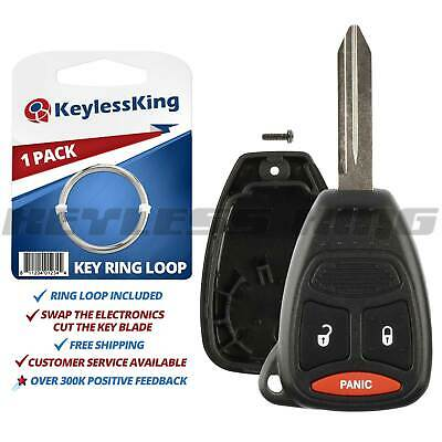 $5.95 • Buy Replacement Remote Key Fob Shell Pad Case 3btn For 2005 2006 2007 Dodge Magnum