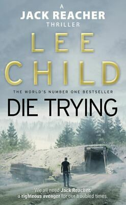 Die Trying By Lee Child (Paperback) Value Guaranteed From EBay's Biggest Seller! • 3.74£