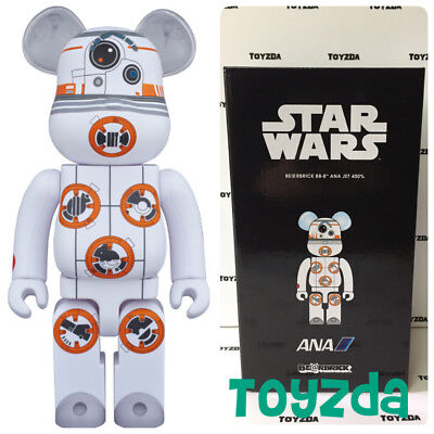 $188.88 • Buy Medicom Japan Limited Star Wars BB-8 ANA JET 400% Bearbrick Be@rbrick