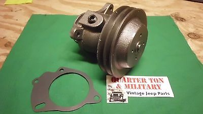 $64 • Buy Water Pump Double Pulley  NEW US Made 945142 Fits Willys M38 M38A1 Jeep