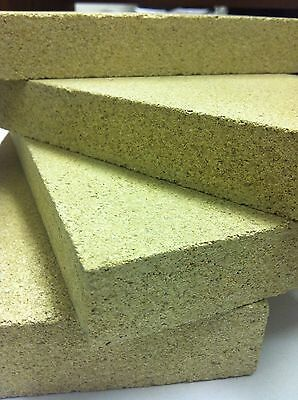 Replacement Fire Bricks   9  X 4.5 X 1  For Wood Burning Stoves  Vermiculite • 10.89£