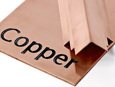 £3.30 • Buy Genuine COPPER Sheet Plate - Guillotine Cut From UK Trade Sheet Metal Supplier