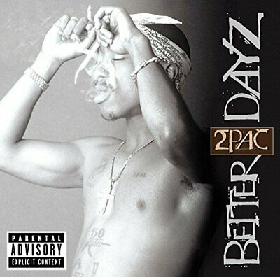 2Pac - Better Dayz - 2Pac CD FKVG The Cheap Fast Free Post The Cheap Fast Free • 3.49£