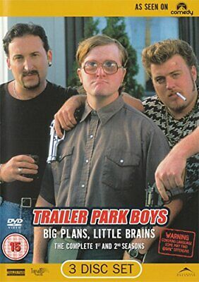 £3.49 • Buy Trailer Park Boys: Complete Season 1 & 2 [DVD] - DVD  GIVG The Cheap Fast Free