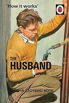 How It Works: The Husband (Ladybird Books For Grown-Ups) By Jason Hazeley, Joel • 1.92£