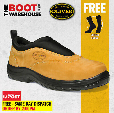 AU129.95 • Buy Oliver Work Boots, 34615, Steel Toe Safety, Wheat Slip-On Sports Shoe. Brand New