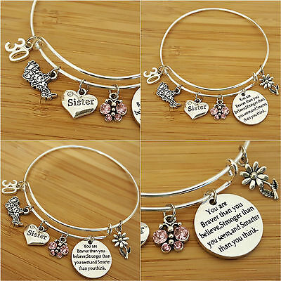 Personalised BIRTHDAY Gifts Bracelet 15th 16th 18th 21st 30th - Gift For Her • 5.99£