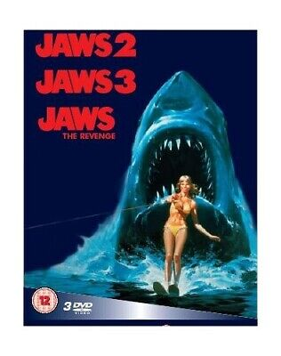 Jaws 2 / Jaws 3 / Jaws: The Revenge [Box Set] [DVD] - DVD  JYVG The Cheap Fast • 3.98£