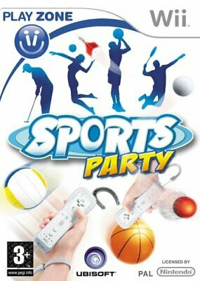 Sports Party (Wii) - Game  5YVG The Cheap Fast Free Post • 4.69£