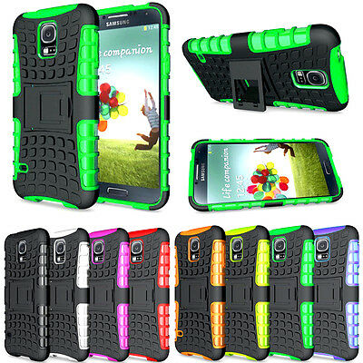 AU7.59 • Buy Heavy Duty Gorilla Shockproof Stand Case Cover Military Builder For Mobile Phone