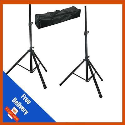 £38.99 • Buy Pulse High Quality PA Speaker Tripod Stands Kit With Bag Stand DJ Disco