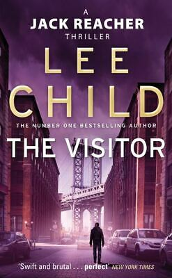 A Jack Reacher Novel: The Visitor By Lee Child (Paperback) Fast And FREE P & P • 3.41£