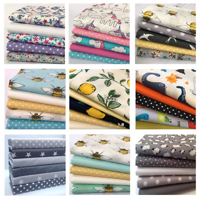 £7.99 • Buy Charm Packs 5 Inch X 5 Inch Quilting, Patchwork, Sewing 100% Cotton Fabric