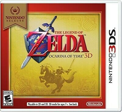 AU32.25 • Buy The Legend Of Zelda: Ocarina Of Time 3D - Nintendo Selects Edition For Nintendo