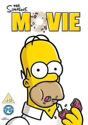 The Simpsons Movie DVD (2007) David Silverman Cert PG FREE Shipping, Save £s • 1.90£