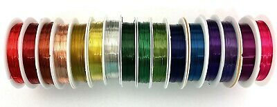 £2.29 • Buy Copper Craft Wire Reel, Choose Colour & Thickness, Wirework Jewellery Making