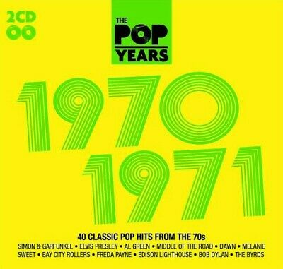 £3.48 • Buy Various Artists : The Pop Years: 1970-1971 CD Expertly Refurbished Product