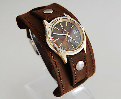 $30.59 • Buy WATCH BAND GENUINE LEATHER STRAP CUFF BRACELET Nathan Drake Cosplay Style 22mm