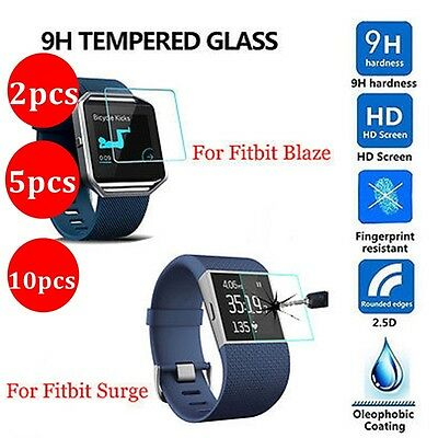 $ CDN8.99 • Buy 10X 5X 2X Lots For Fitbit Blaze SmartWatch Tempered Glass Screen Protector
