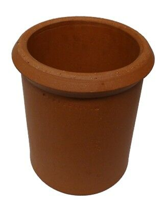 Clay Chimney Pot In VARIOUS SIZES Clay Chimney Top Red Clay Chimney Pot • 79.99£