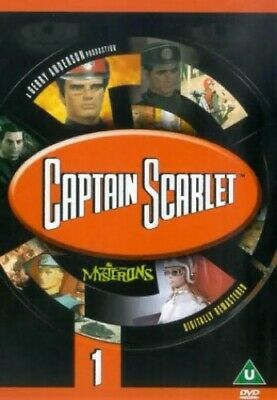 £3.49 • Buy Captain Scarlet And The Mysterons: 1 [DVD] [1967] - DVD  BVVG The Cheap Fast