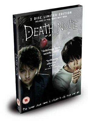 £3.49 • Buy Death Note - The Movie (2 Disc Limited Edition) [DVD] - DVD  RWVG The Cheap Fast