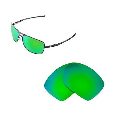 36990d5d58 New Walleva Polarized Emerald Replacement Lenses For Oakley Plaintiff  Squared • 24.99