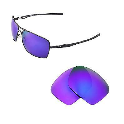 87caf06142 New Walleva Polarized Purple Replacement Lenses For Oakley Plaintiff  Squared • 24.99