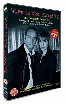 Wire In The Blood - Series 6 [UK DVD] - DVD  M2VG The Cheap Fast Free Post • 4.88£