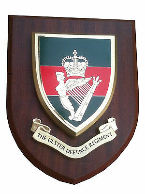 UDR Ulster Defence Regiment Military Shield Wall Plaque • 19.99£
