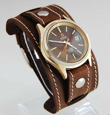 $30.59 • Buy WATCH BAND GENUINE LEATHER STRAP CUFF BRACELET Nathan Drake Cosplay Style 2 20mm