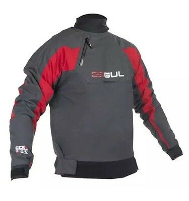 GUL Mens Grey & Red Ballistic Dry Top Canoe Kayak Small NEW • 50.99£