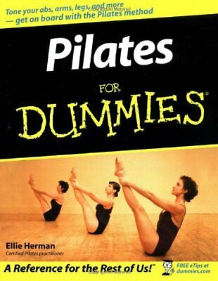 £4.99 • Buy Pilates For Dummies By Herman, Ellie Paperback Book The Cheap Fast Free Post